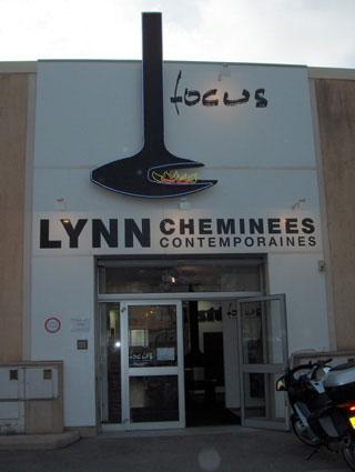 showroom Lynn cheminées France