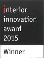 interiior innovation award 2015 pour le Slimfocus