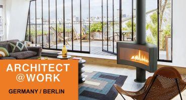 Focus Creation Cheminées Design Architect@Work Contemporaine Poêle architecte Architecture
